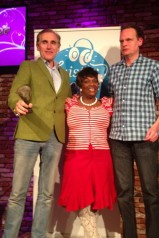 Arthur Japin wint Luisterboek Award 2013