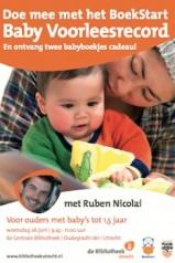 BoekStart Baby Voorleesrecord